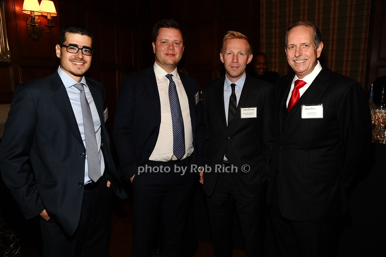 Mihalis Goustounis, Asegeir Gylfason, Bennedlkt Gislason, Lee Bucheit photo by Rob Rich/SocietyAllure.com © 2016 robwayne1@aol.com 516-676-3939