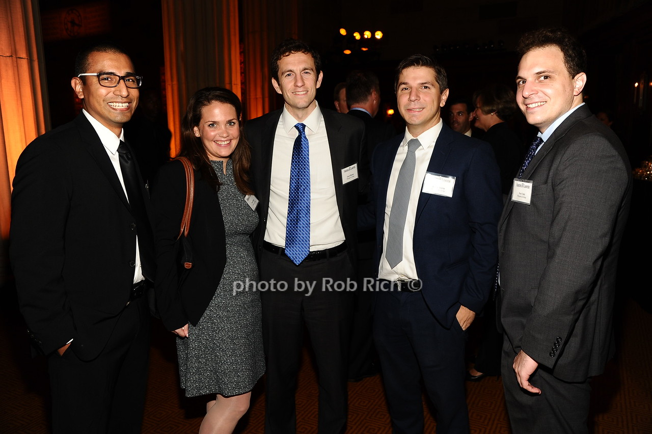 Lenin Lopez, Tara Fisher, Zach Blume, Adam Stella, Rob Tufo