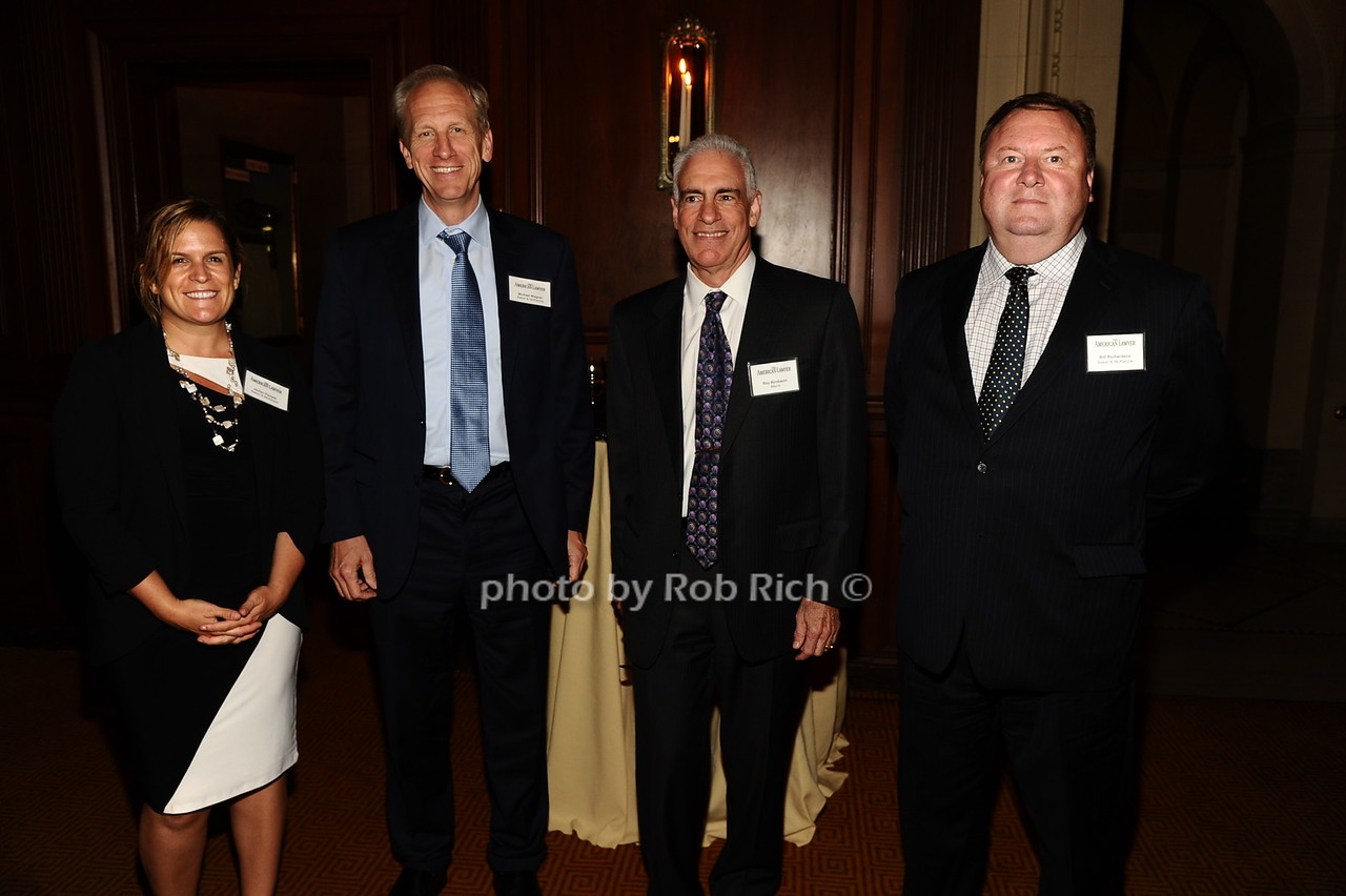 Jaclyn Pampel, Michael Wagner, Roy Birnbaum, Bill Richardson