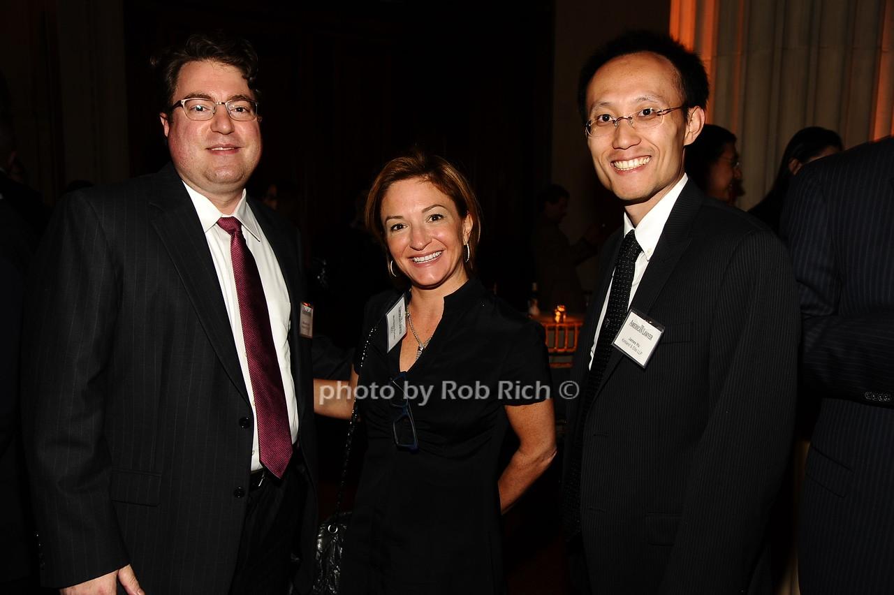 Michael Brueck, Morissey Perfeti, James Hu photo by Rob Rich/SocietyAllure.com © 2016 robwayne1@aol.com 516-676-3939