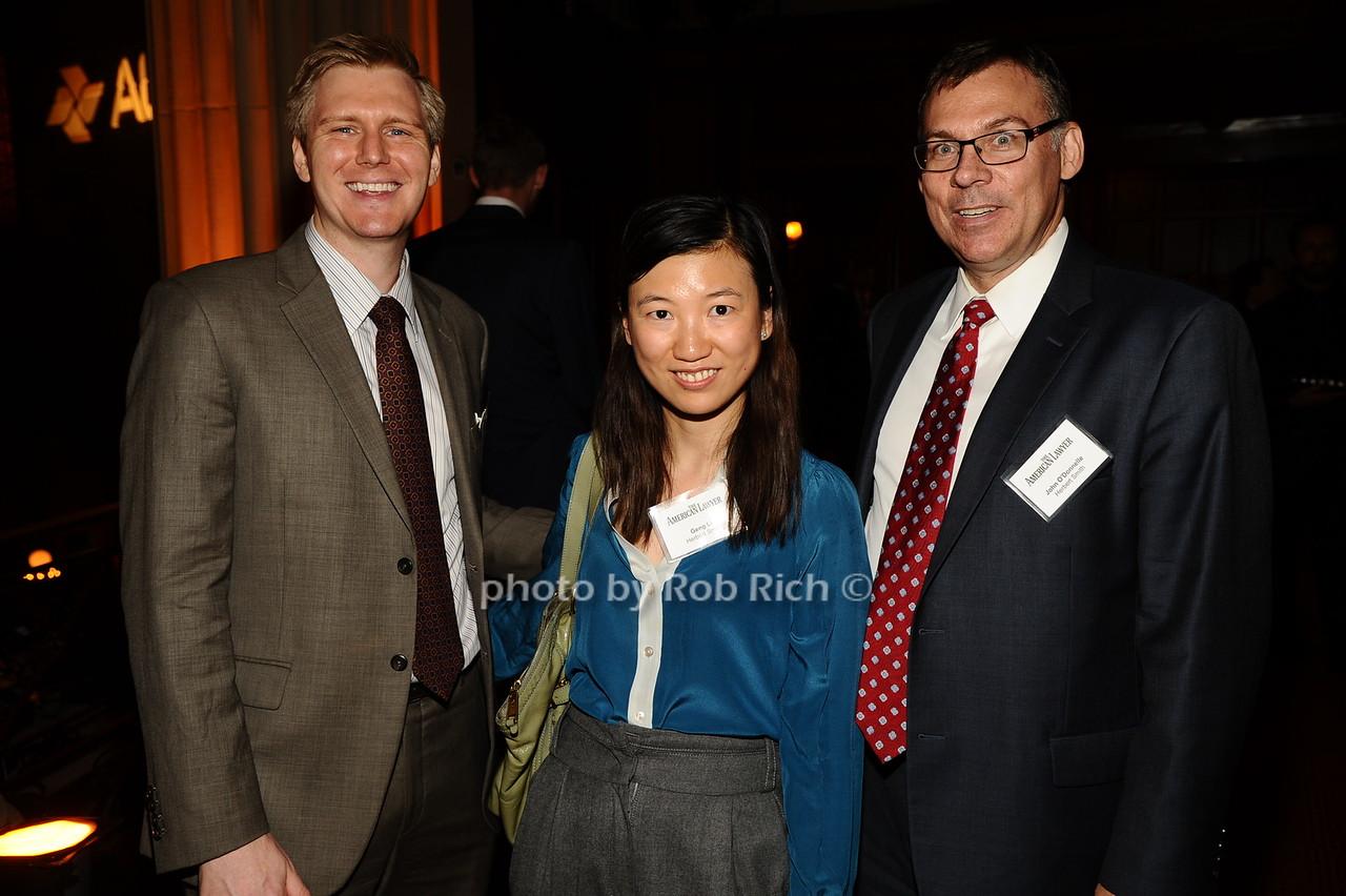 David Leimbach, Geng Li, John O'Donelle photo by Rob Rich/SocietyAllure.com © 2016 robwayne1@aol.com 516-676-3939
