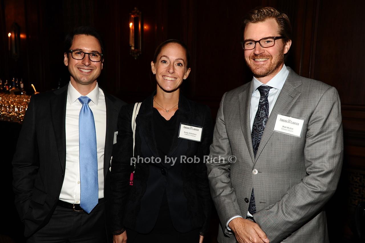 Jason Mendro, Emily DiStefano, Matt McGill photo by Rob Rich/SocietyAllure.com © 2016 robwayne1@aol.com 516-676-3939