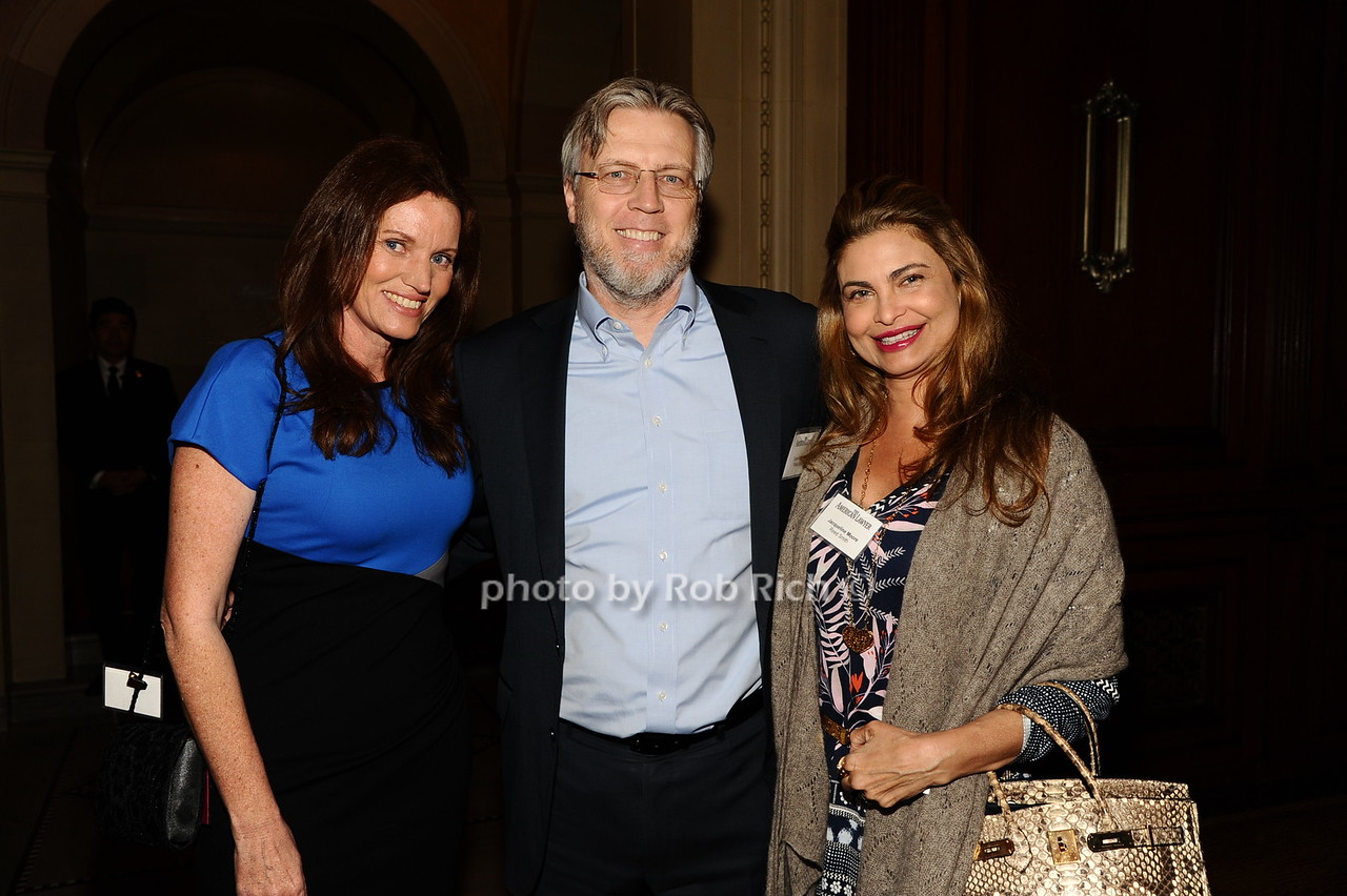 Jayne Fleming, Donald Moore, Jacqueline Moore