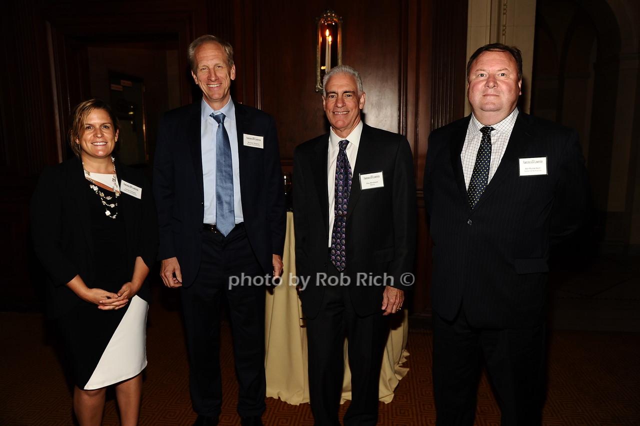 Jaclyn Pampel, Michael Wagner, Roy Birnbaum, Bill Richardson photo by Rob Rich/SocietyAllure.com © 2016 robwayne1@aol.com 516-676-3939