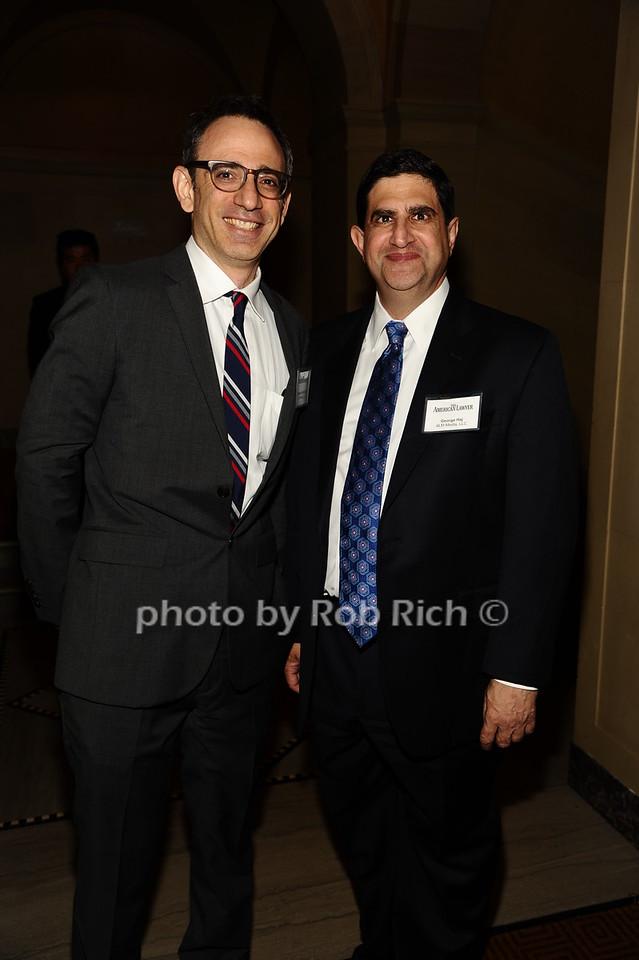 Michael Goldhaber, George Haj photo by Rob Rich/SocietyAllure.com © 2016 robwayne1@aol.com 516-676-3939