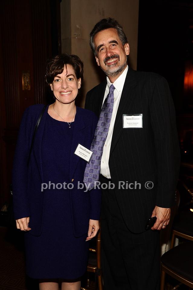 Andrea Menaker, Francis Vasquez photo by Rob Rich/SocietyAllure.com © 2016 robwayne1@aol.com 516-676-3939