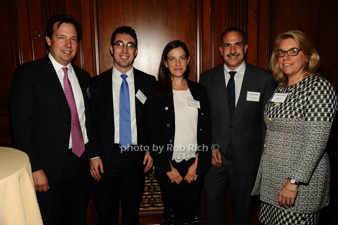 Robert Carroll, Brian Burgess, Valerie Haggans, Dennis Hranitzky, Elizabeth Fries