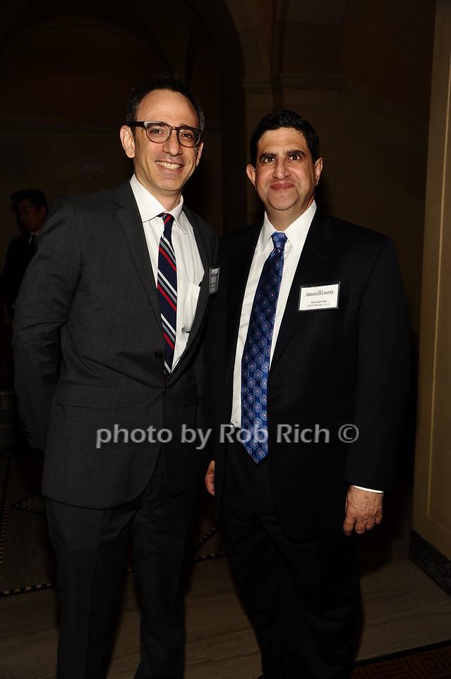 Michael Goldhaber Michael Goldhaber, George Haj photo by Rob Rich/SocietyAllure.com © 2016 robwayne1@aol.com 516-676-3939