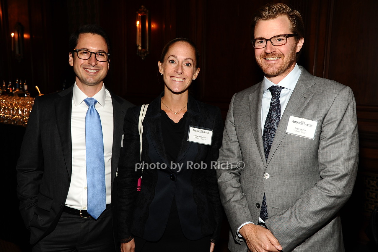 Jason Mendro, Emily DiStefano, Matt McGill