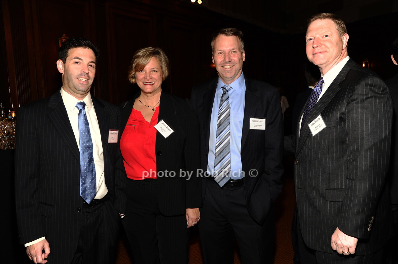 Jeff Prowda, Onelia Vora, Chris Corneau, Scott Falk photo by Rob Rich/SocietyAllure.com © 2016 robwayne1@aol.com 516-676-3939