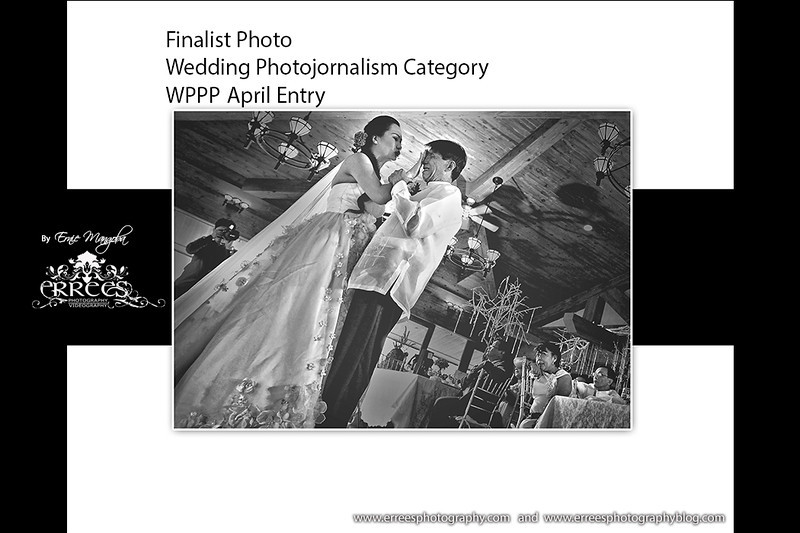 Shoot at  Manor Hotel, Baguio City during first dance with her father.