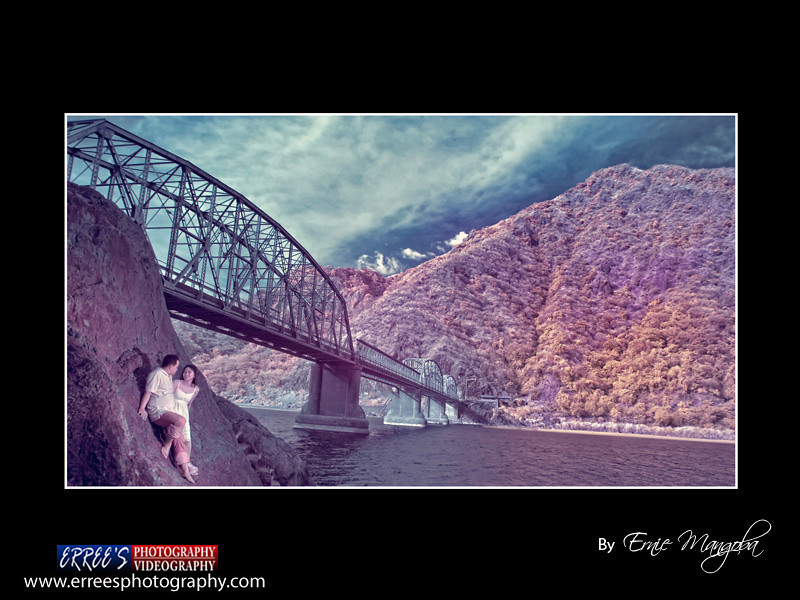 Dennis and Digna prenup at Banaoang Bridge known us Quirino Bridge, Bantay, Ilocos Sur, Philippines