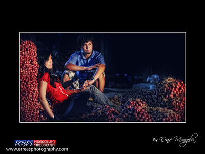 Mary Ann and Roel during prenup at Kalasunaan Spicy of Ilocano.