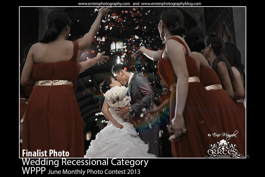 Recessional Shots for St. Lucy Parish Church at Narvacan,Ilocos Sur, Philippines. Couple Richard and Emilyn
