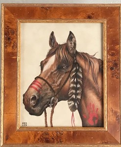 FEATHER IN THE WIND got a  honorable mention at the Colored Pencil Society of America , chapter 214, pencil paintings show