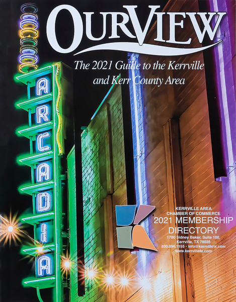 Front Cover - Overview - 2021 Kerrville   Chamber on Commerce  Member Directory