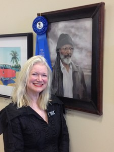 First place award at the Pastel Society of Southern California annual show