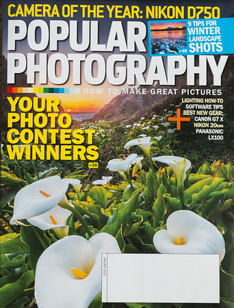 January 2015 Cover of Popular Photography