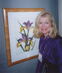SPRING ISLAND SPIRIA IRIS was included in the annual botanical juried art exhibition at the Filoli Gardens in Woodside, California