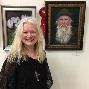 IRISH GENT won 2nd place at the 2018 Westlake Village Art Guild Open Juried Art Show at  Thousand Oaks Community Art Gallery
