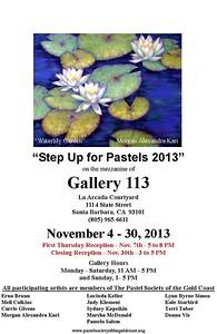 Pastel Show at Gallery 113 in Santa Barbara, California