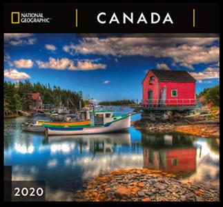 2020 NATGEO Canada Wall Calendar Cover