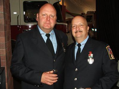 """Firefighters James Stoudt & Kieth """"Sarge"""" Eschleman"""