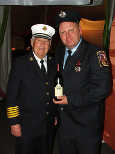 Chief William Rehr & Firefighter James Stoudt.
