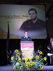 Lt. Thorpe Award Ceremony