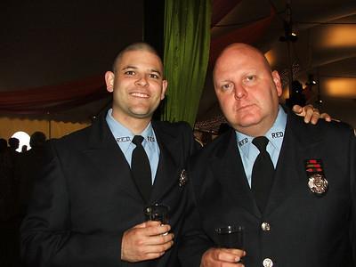 Firefighters Jason Batz & James Stoudt