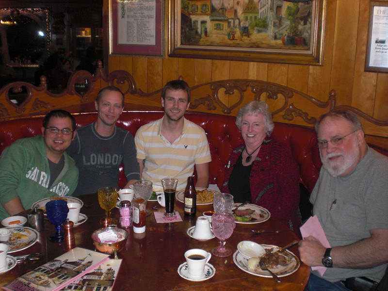 Friday Night Dinner at the Copper Cafe in the Madonna Inn