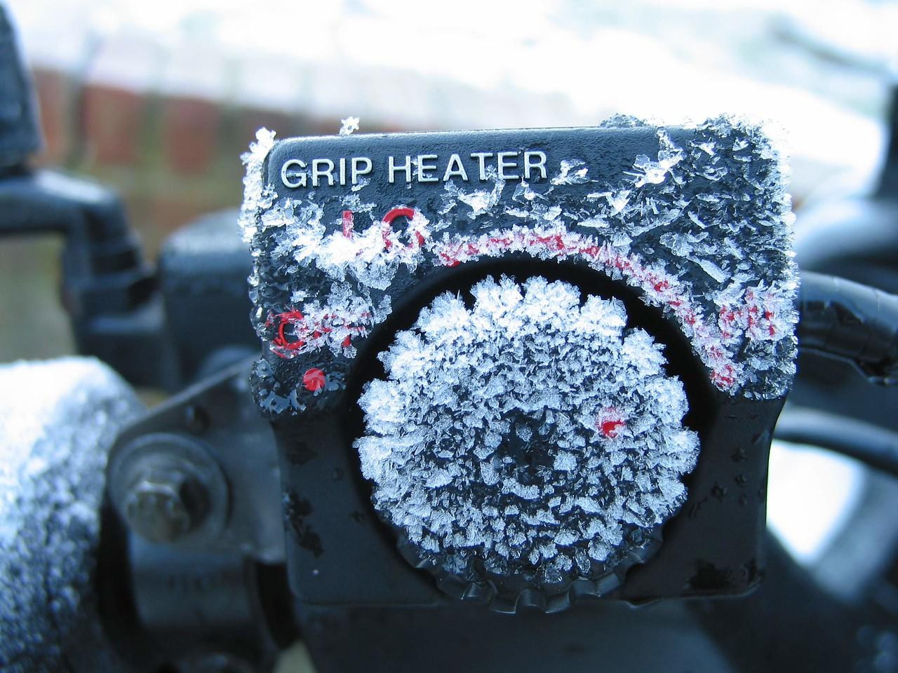 Unheated heater control!