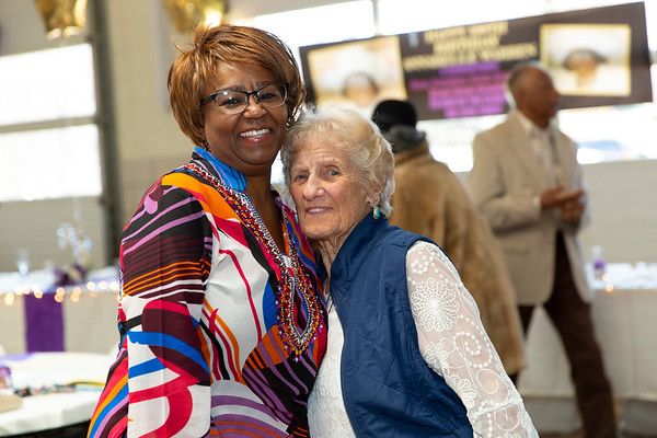 County commisioners celebrate  Annabelle Warren's 100th Birthday.