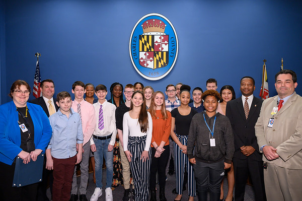 Recognition: Winter Coat Drive of General Smallwood Middle School Student Government Association