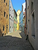 Cobblestone street, Regensburg