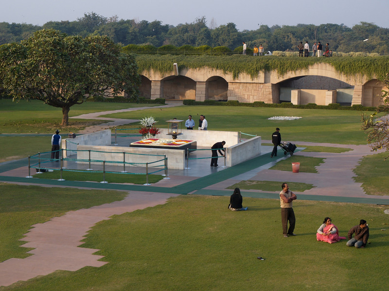 Gandhi's memorial | India | 2006 |