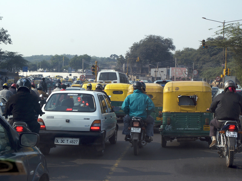 Delhi traffic | India | 2006 |