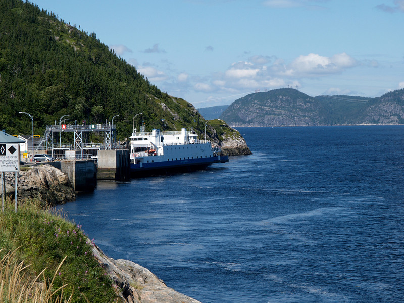 Quebec ferry, Saguenay River