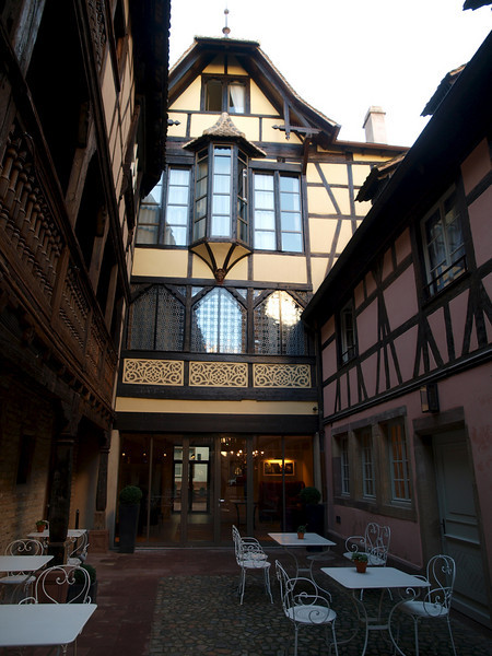 Our hotel in Strasbourg