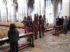 Masai warriors at Ely Cathedral. Quite a surprise.