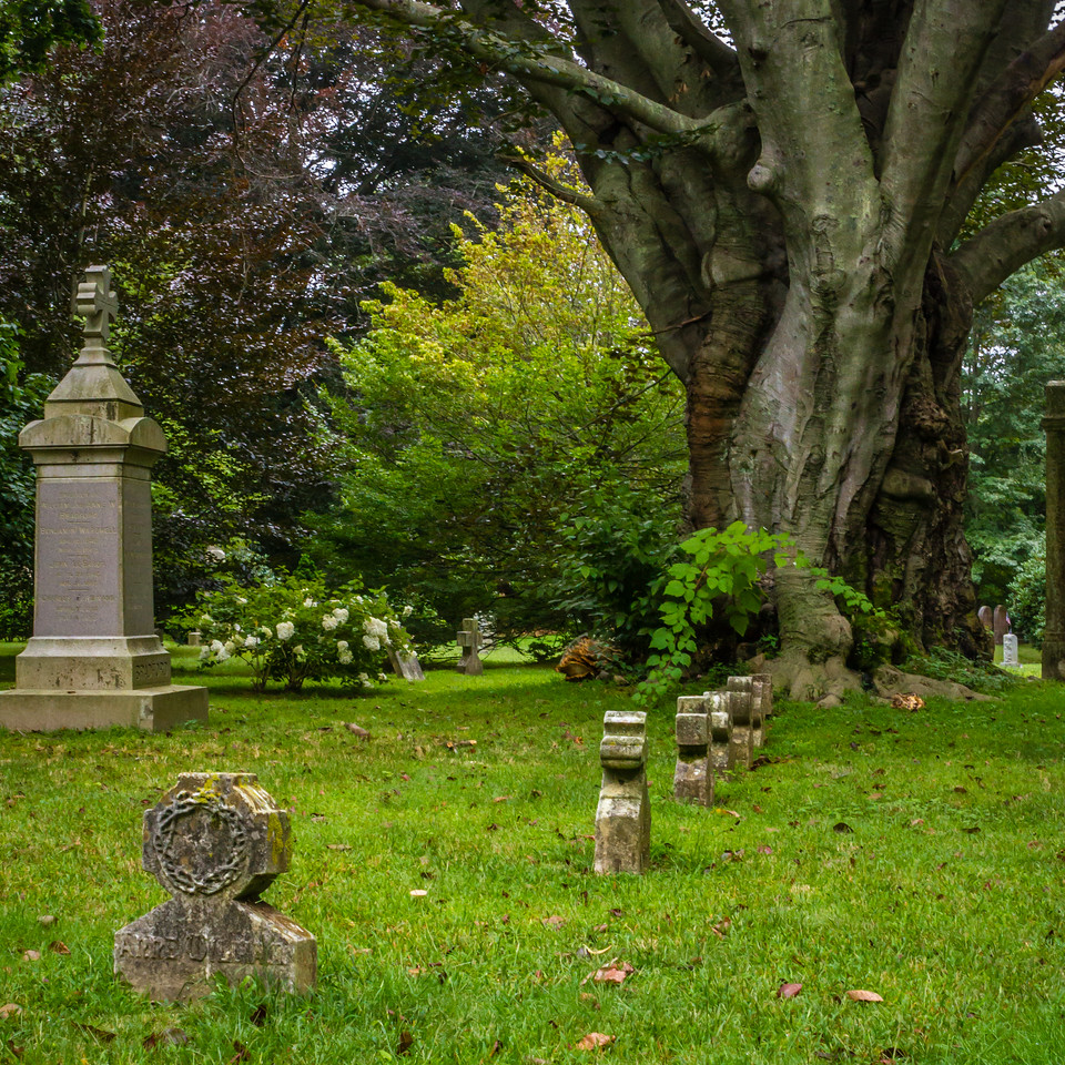 Late Gothic Revival Cemetery Juniper Hill