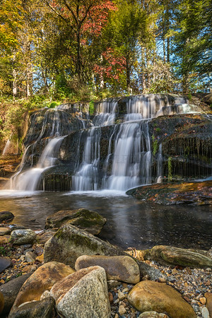 Waterfall & Fall Color