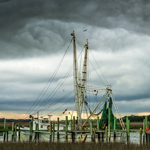 Pawley's Island Shrimp Boats