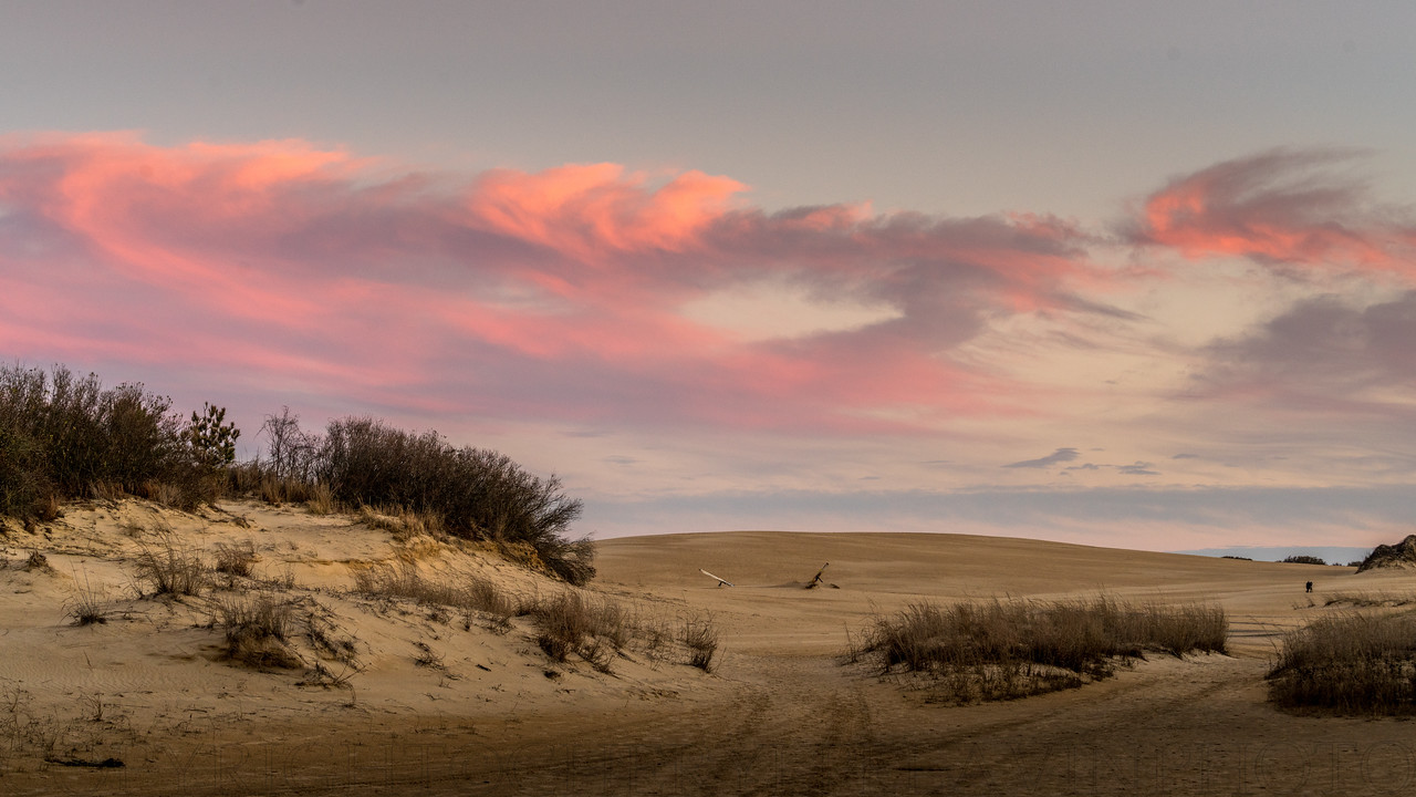 Jockey's Ridge, Sunset