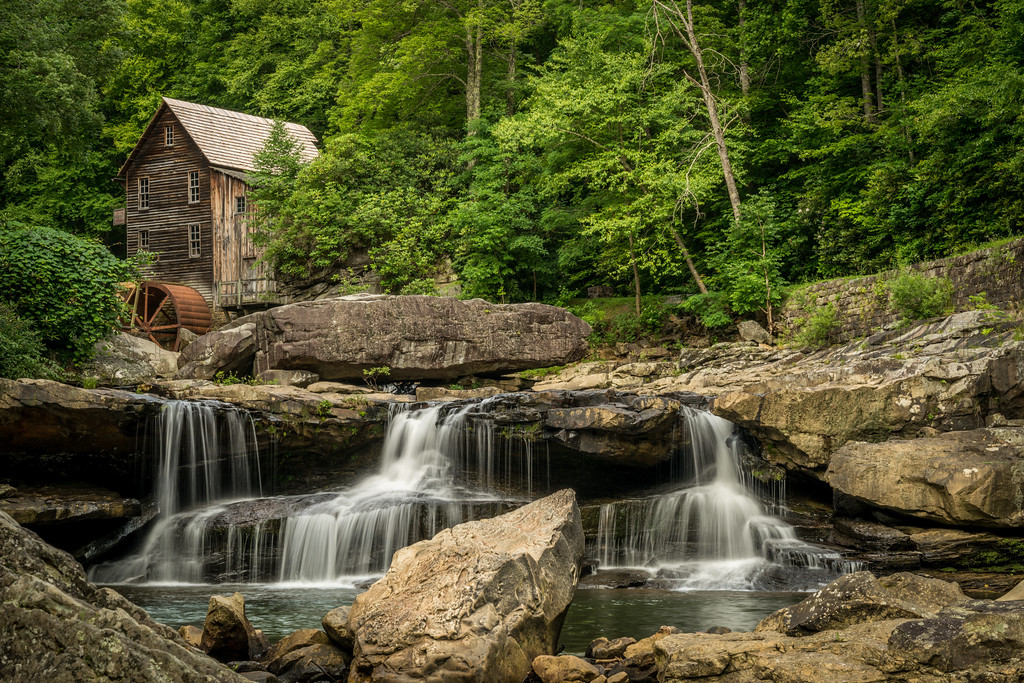 The Grist Mill at Glade Creek Falls