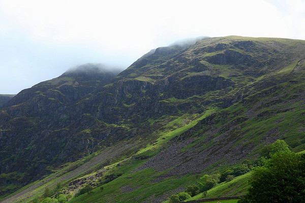 Whin Rigg summit in the cloud, 18/06/11