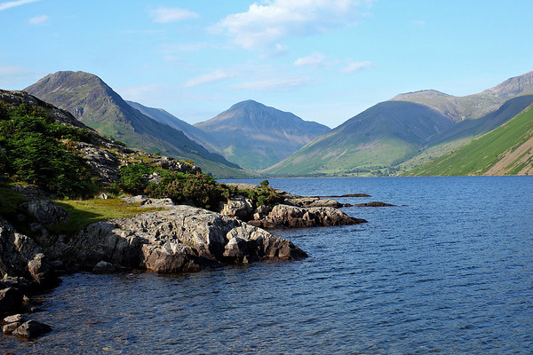 The classic view across Wast Water, 14/07/11