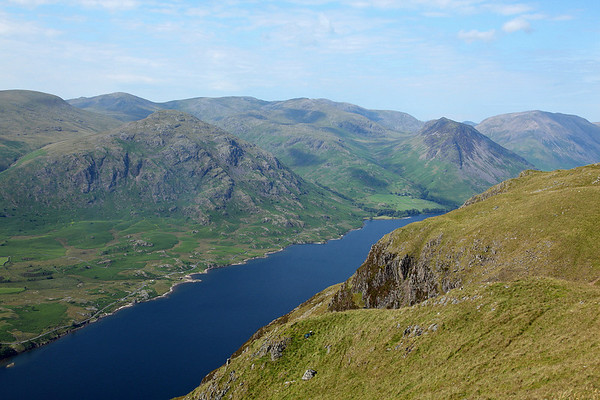 Looking down on Wast water from the summit of Whin Rigg, stunning!!! 14/07/11