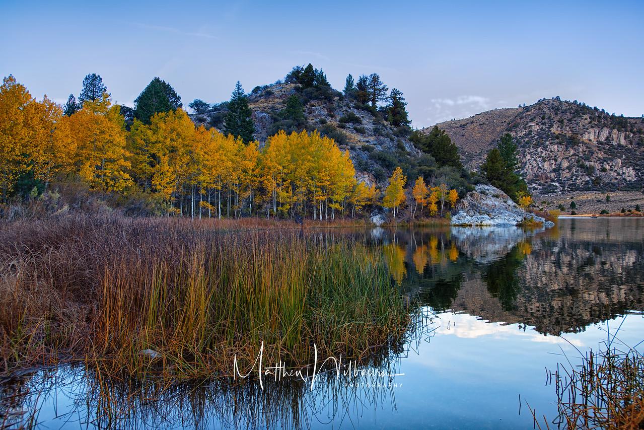 Gull Lake California Autumn