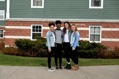 Room 105 Photo Shoot - Sarah, Lex, Ava & Sandy
